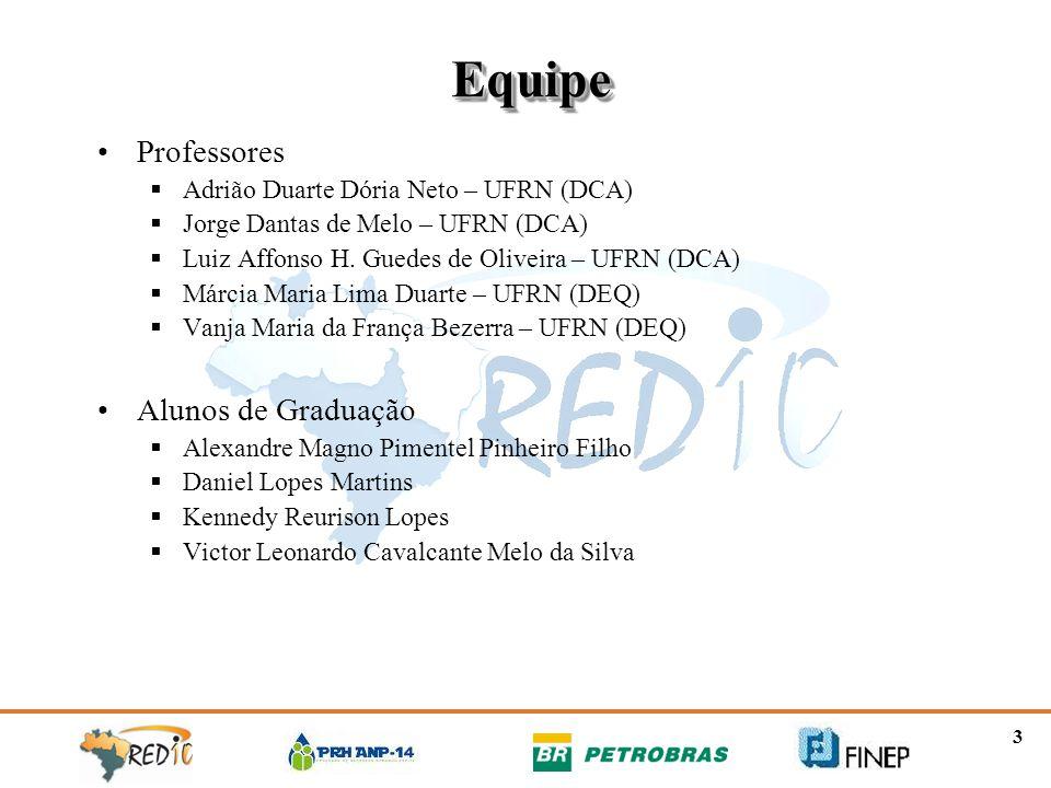 Equipe Professores Alunos de Graduação
