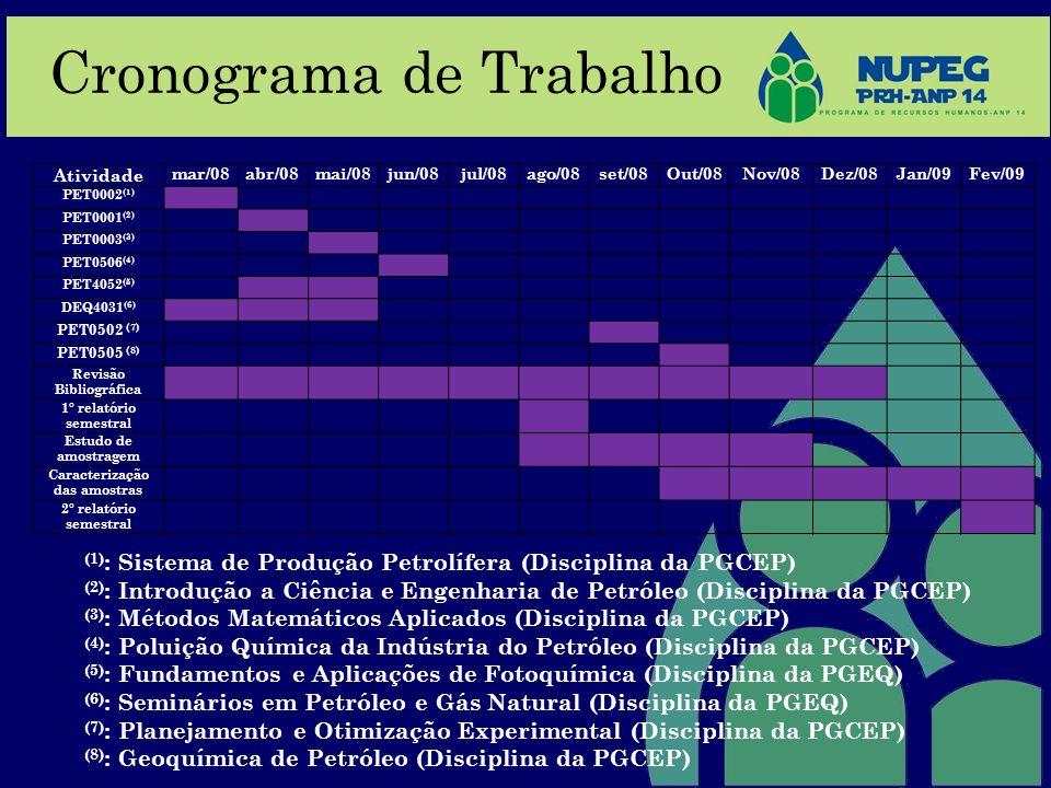 Revisão Bibliográfica Caracterização das amostras