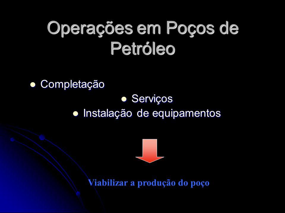 Operações em Poços de Petróleo