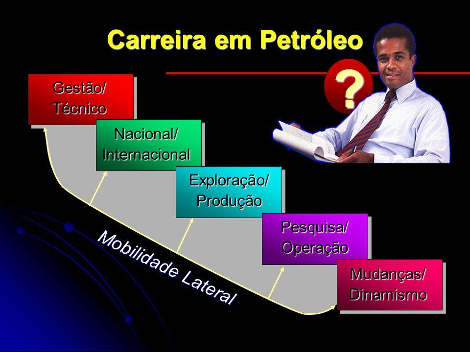 Carreira em Petróleo Mobilidade Lateral Gestão/ Técnico Nacional/