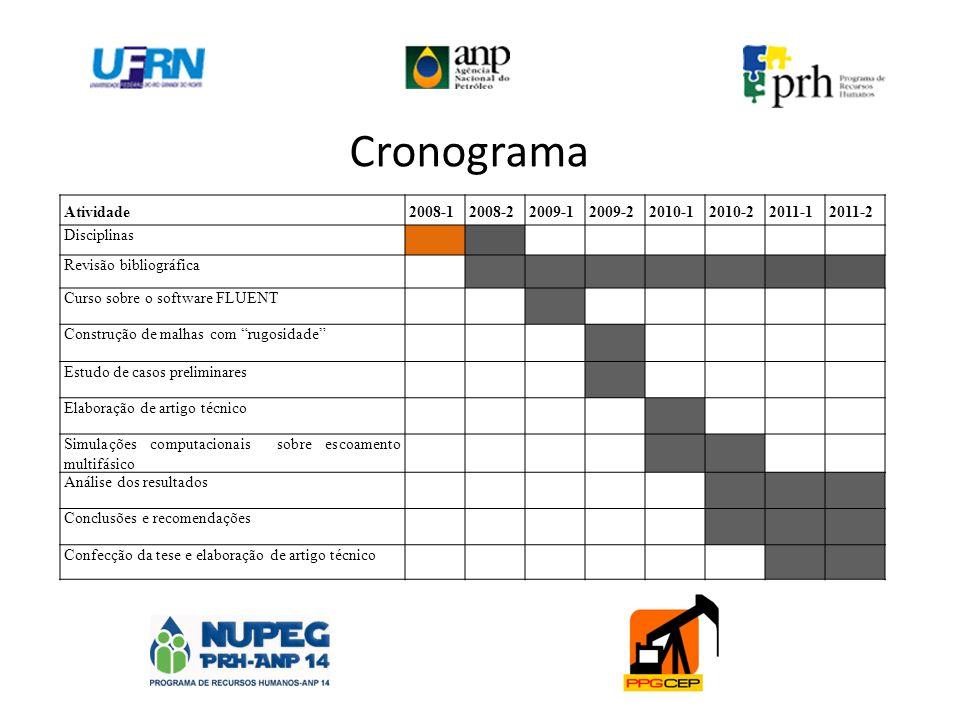 Cronograma Atividade 2008-1 2008-2 2009-1 2009-2 2010-1 2010-2 2011-1