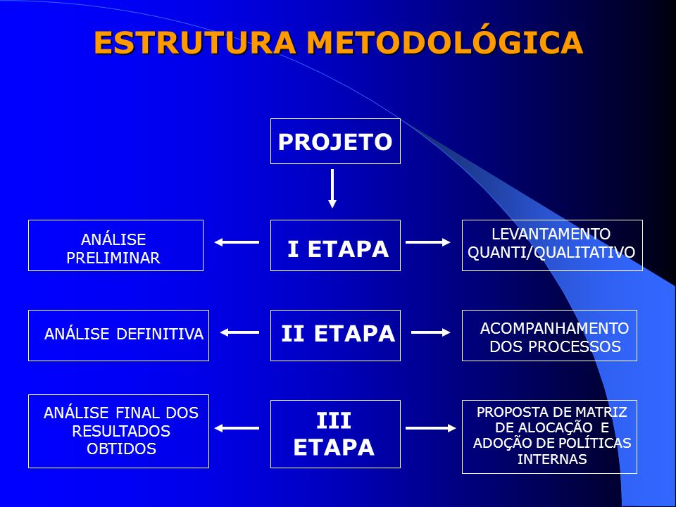 ESTRUTURA METODOLÓGICA