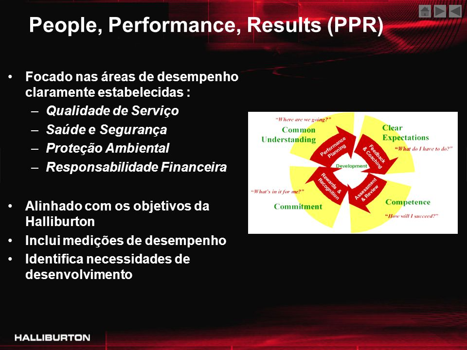 People, Performance, Results (PPR)