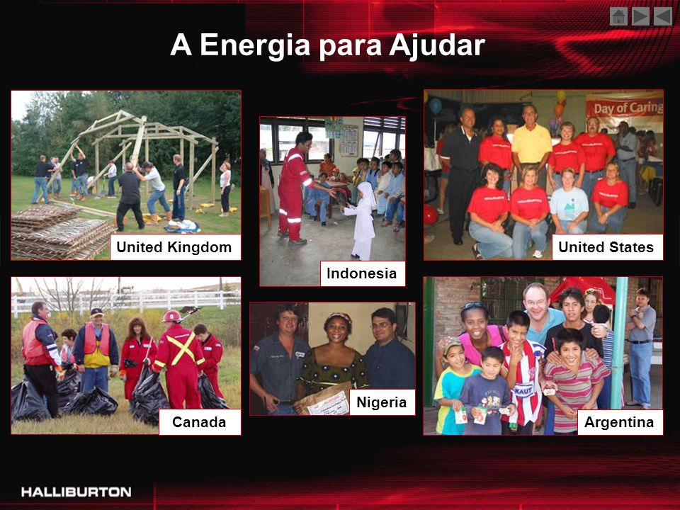 A Energia para Ajudar United Kingdom United States Indonesia Canada