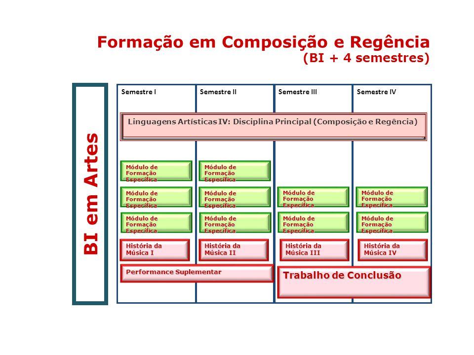 BI em Artes Formação em Composição e Regência (BI + 4 semestres) 14