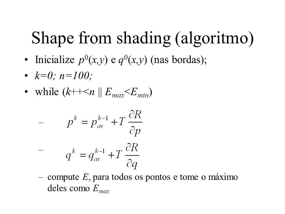 Shape from shading (algoritmo)