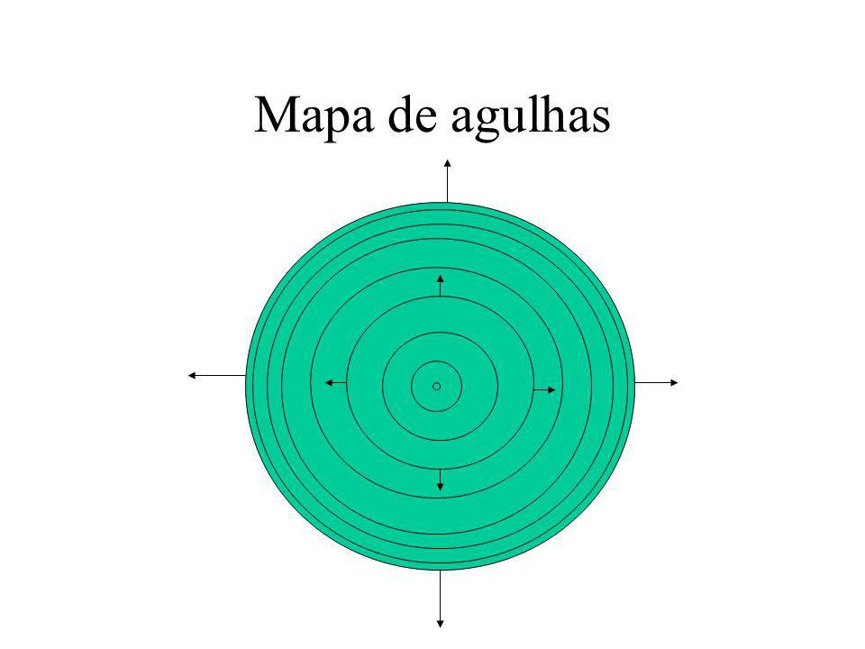 Mapa de agulhas