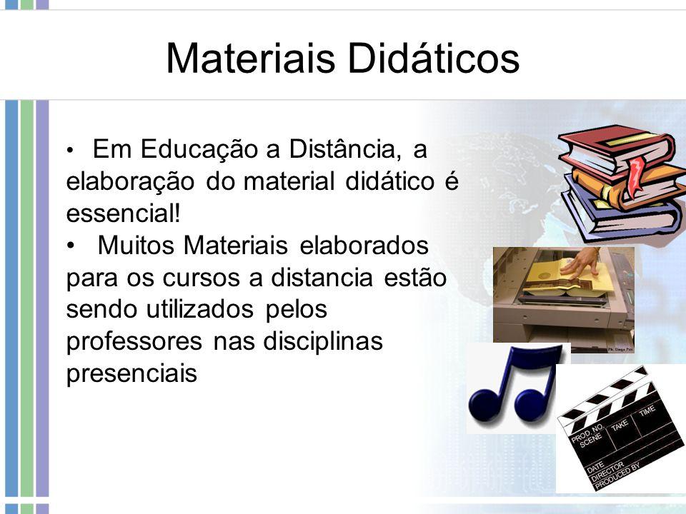 Materiais Didáticos Em Educação a Distância, a elaboração do material didático é essencial!