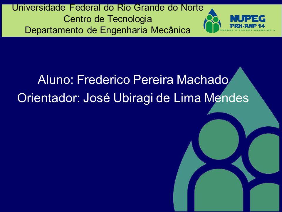 Aluno: Frederico Pereira Machado