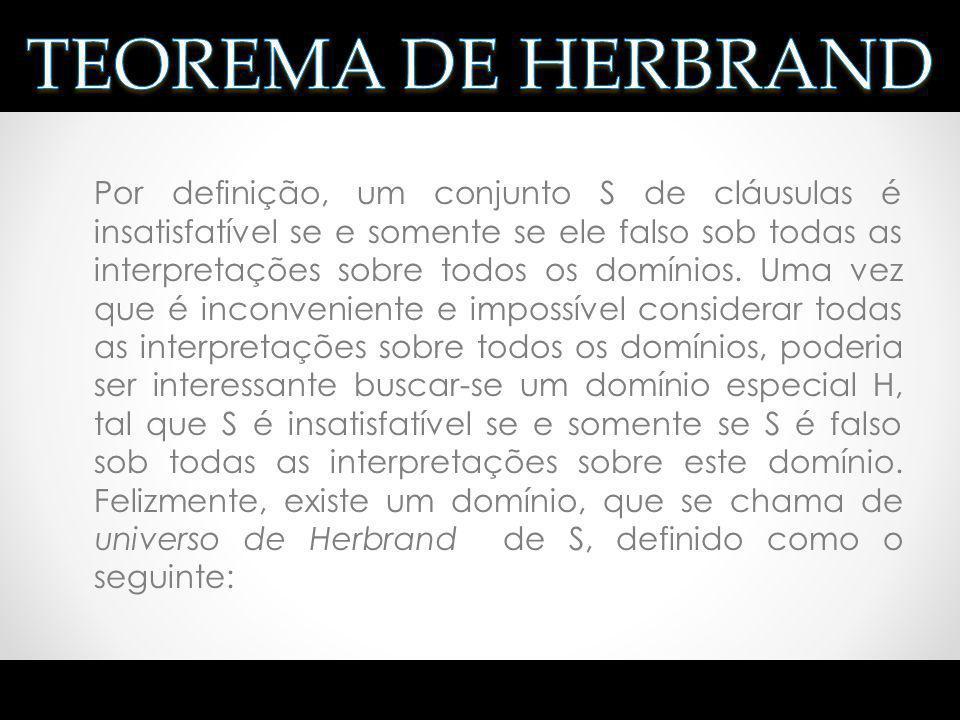 TEOREMA DE HERBRAND