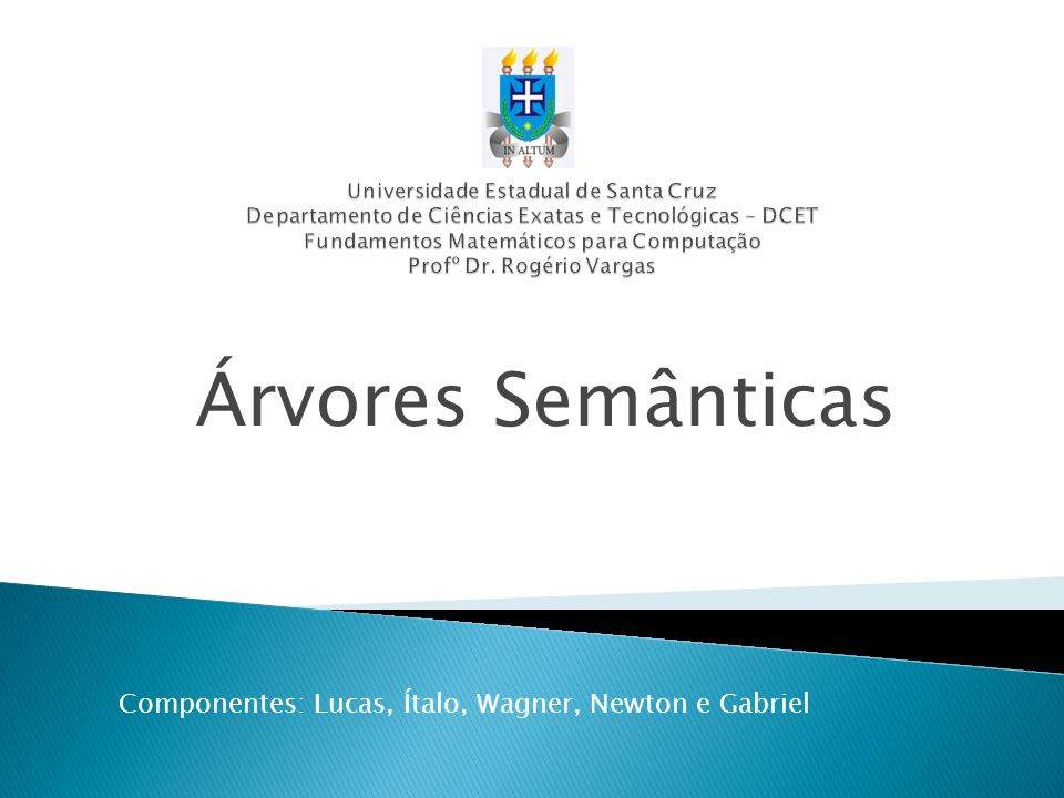 Componentes: Lucas, Ítalo, Wagner, Newton e Gabriel