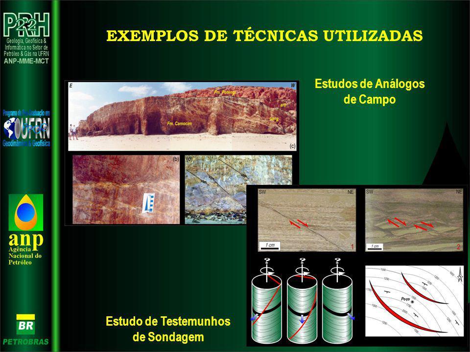 EXEMPLOS DE TÉCNICAS UTILIZADAS