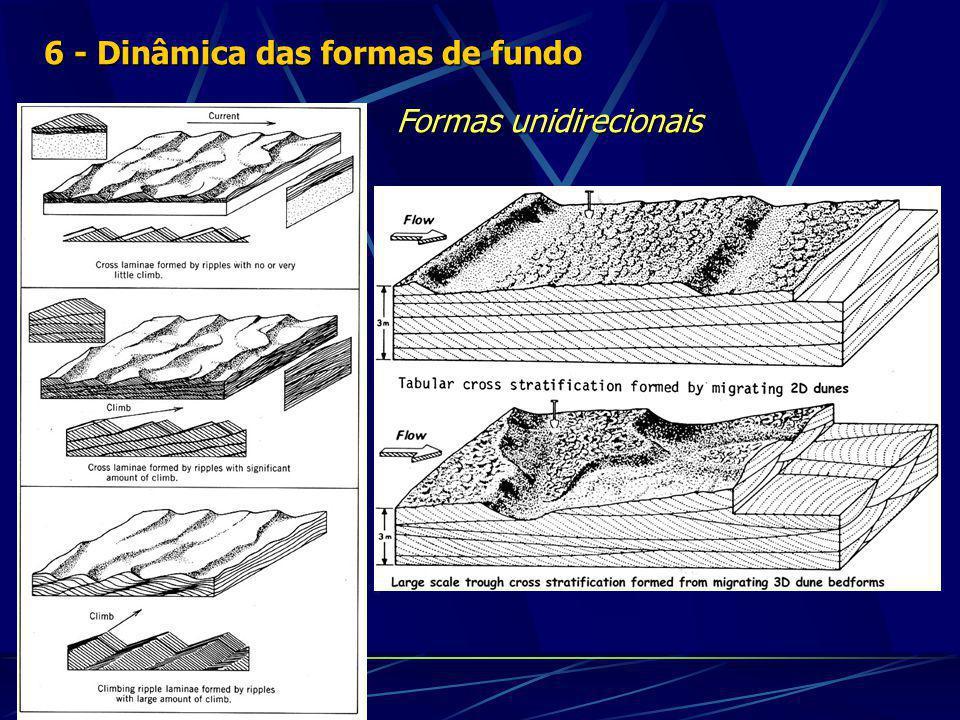 6 - Dinâmica das formas de fundo