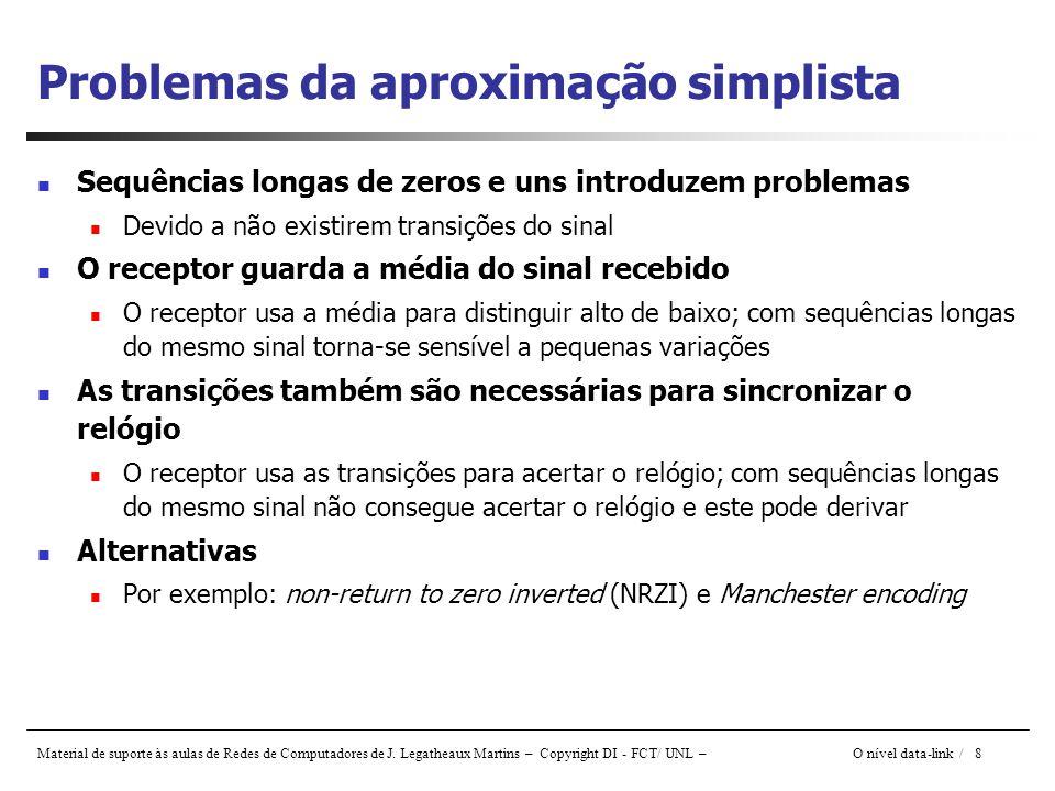 Problemas da aproximação simplista