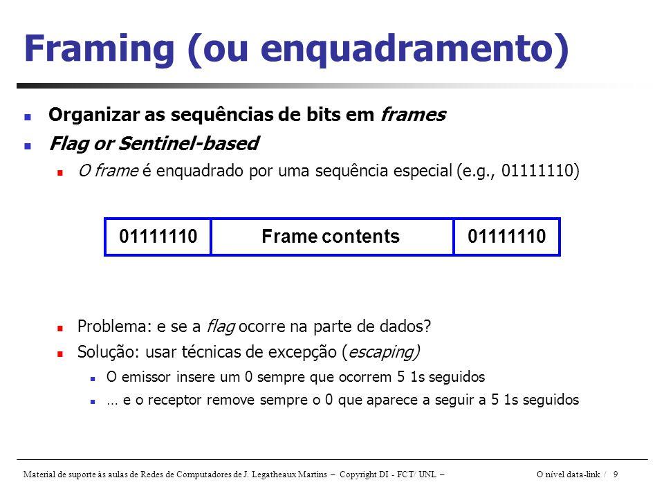 Framing (ou enquadramento)