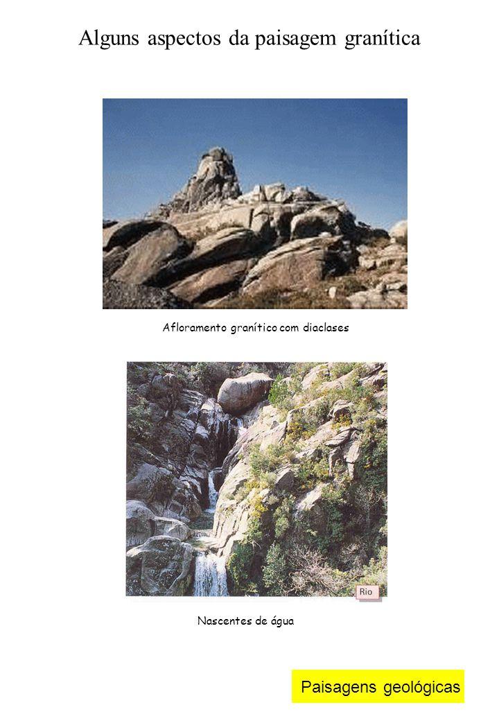 Alguns aspectos da paisagem granítica