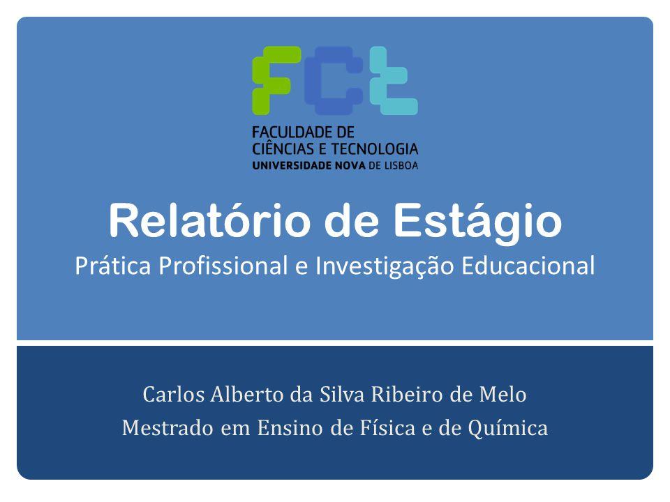 Relatório de Estágio Prática Profissional e Investigação Educacional