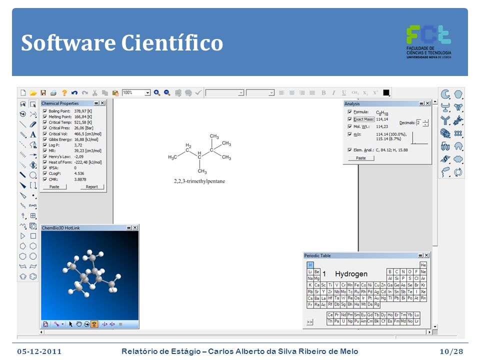 Software Científico ChemBioDraw Ultra