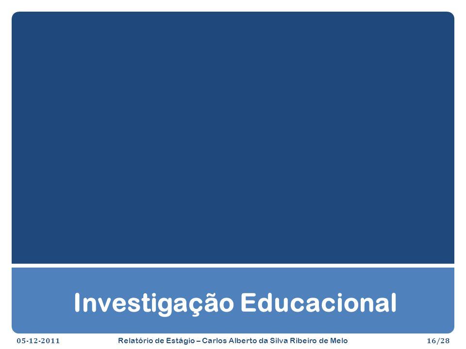 Investigação Educacional