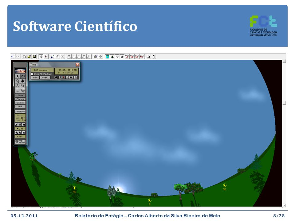 Software Científico Starry Night Pro (http://www.starrynight.com/)