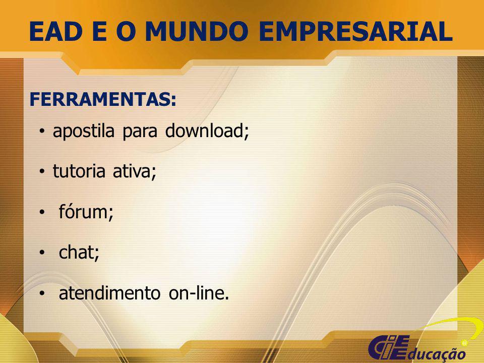 EAD E O MUNDO EMPRESARIAL