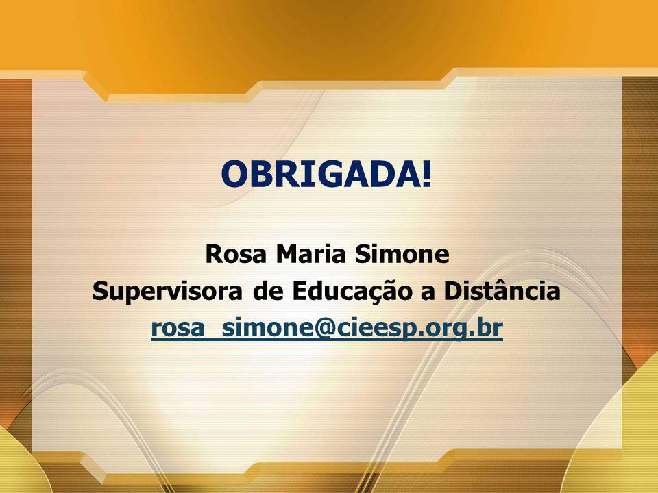 Supervisora de Educação a Distância