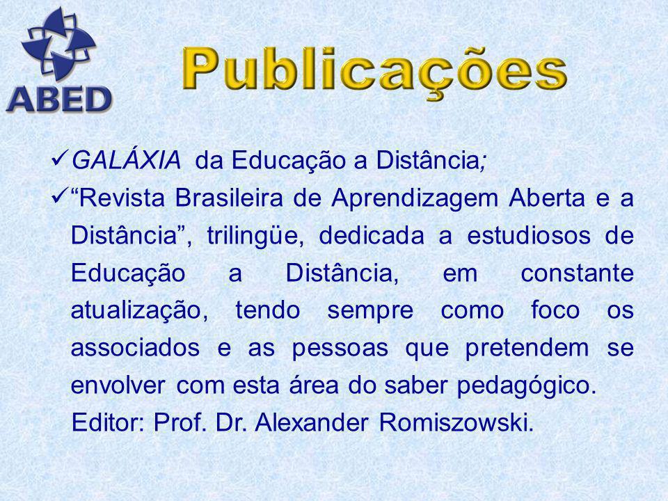 GALÁXIA da Educação a Distância;