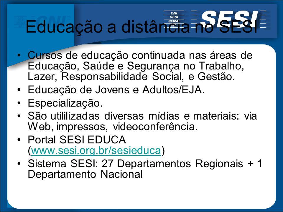 Educação a distância no SESI