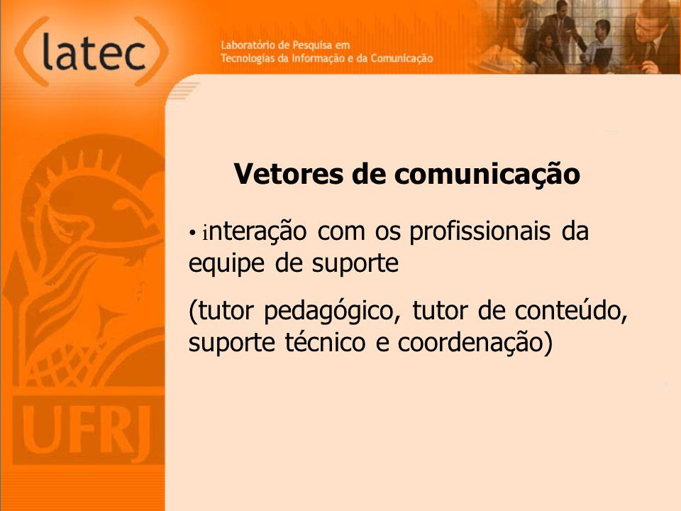 Vetores de comunicação