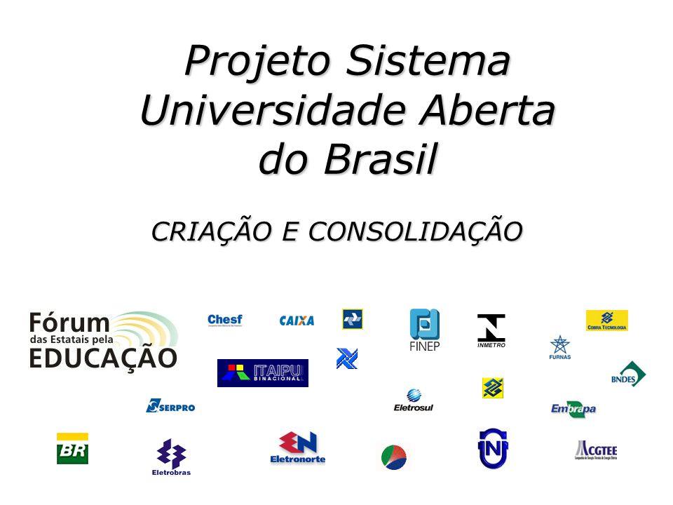 Projeto Sistema Universidade Aberta do Brasil