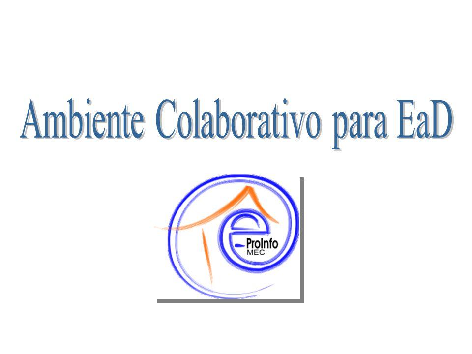 Ambiente Colaborativo para EaD