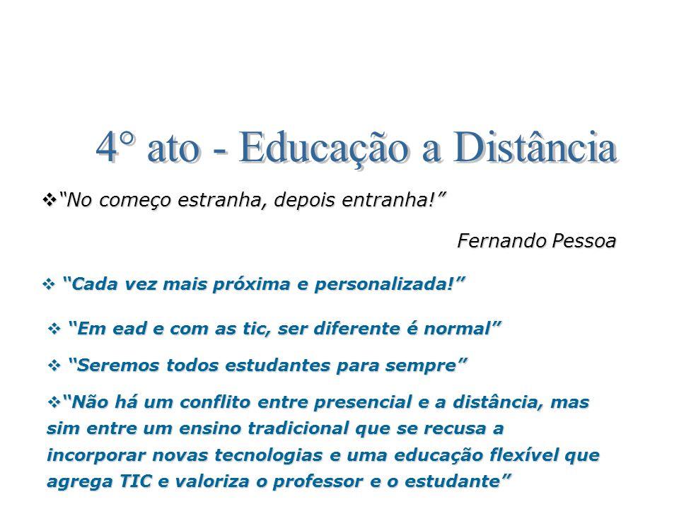 4° ato - Educação a Distância
