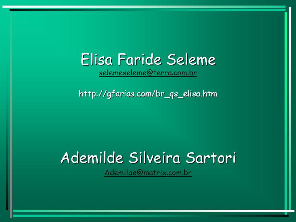 Ademilde Silveira Sartori Ademilde@matrix.com.br