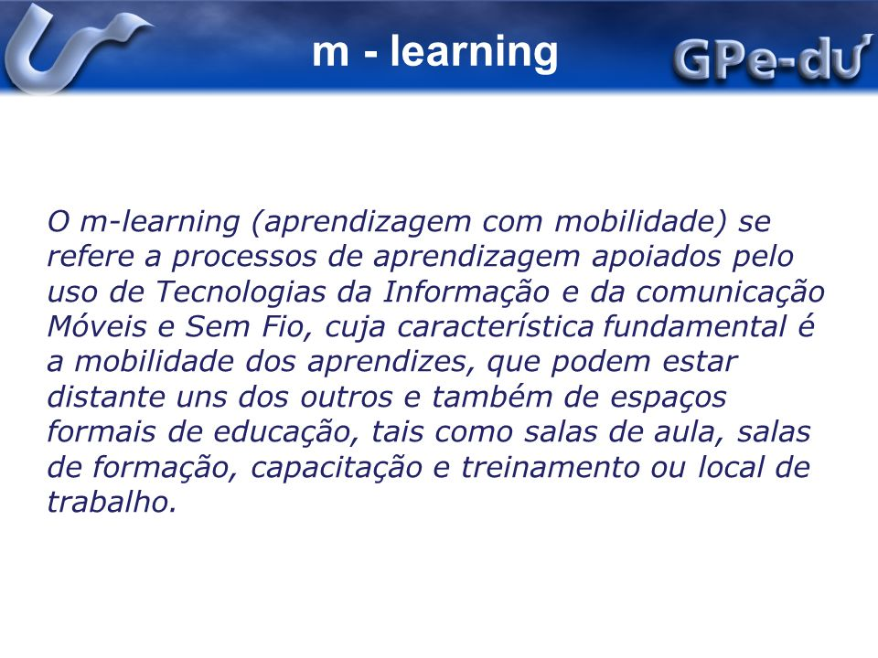 m - learning