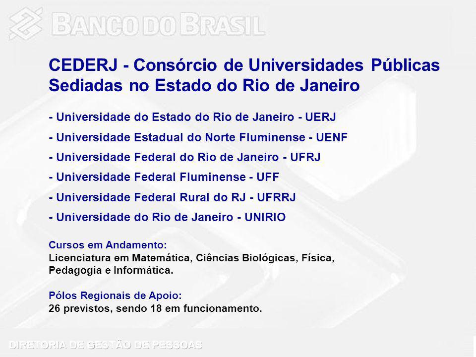 CEDERJ - Consórcio de Universidades Públicas