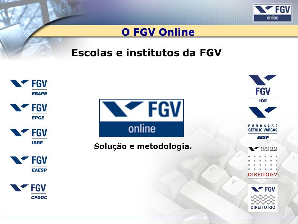 Escolas e institutos da FGV