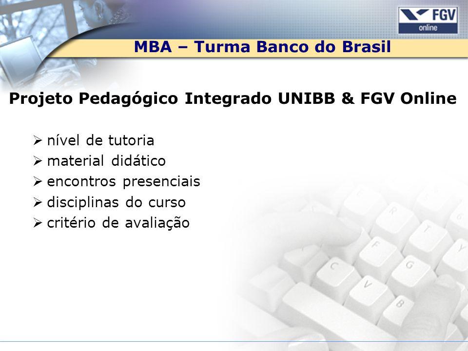 MBA – Turma Banco do Brasil