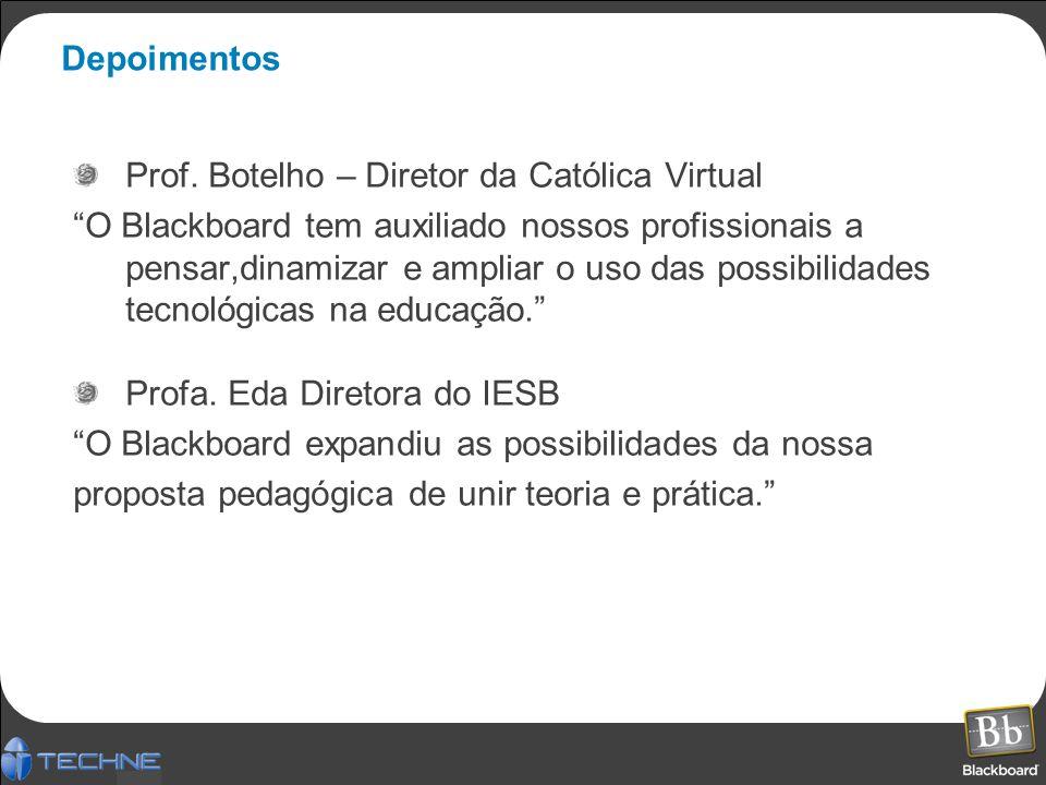 Depoimentos Prof. Botelho – Diretor da Católica Virtual.