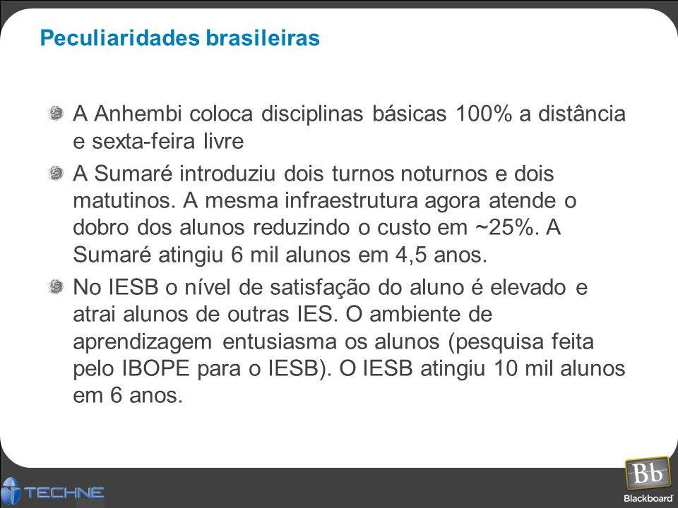 Peculiaridades brasileiras