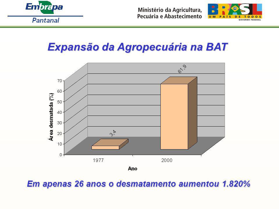 Expansão da Agropecuária na BAT
