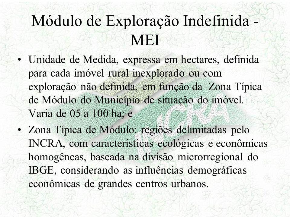 Módulo de Exploração Indefinida - MEI