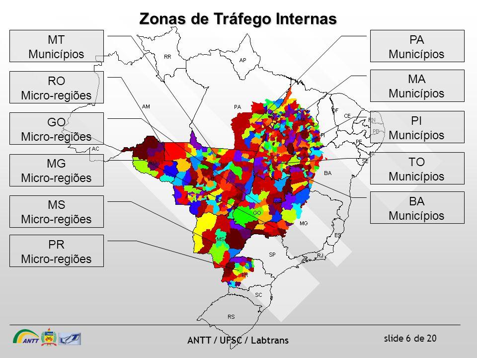 Zonas de Tráfego Internas