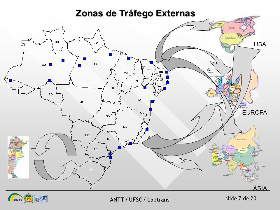Zonas de Tráfego Externas