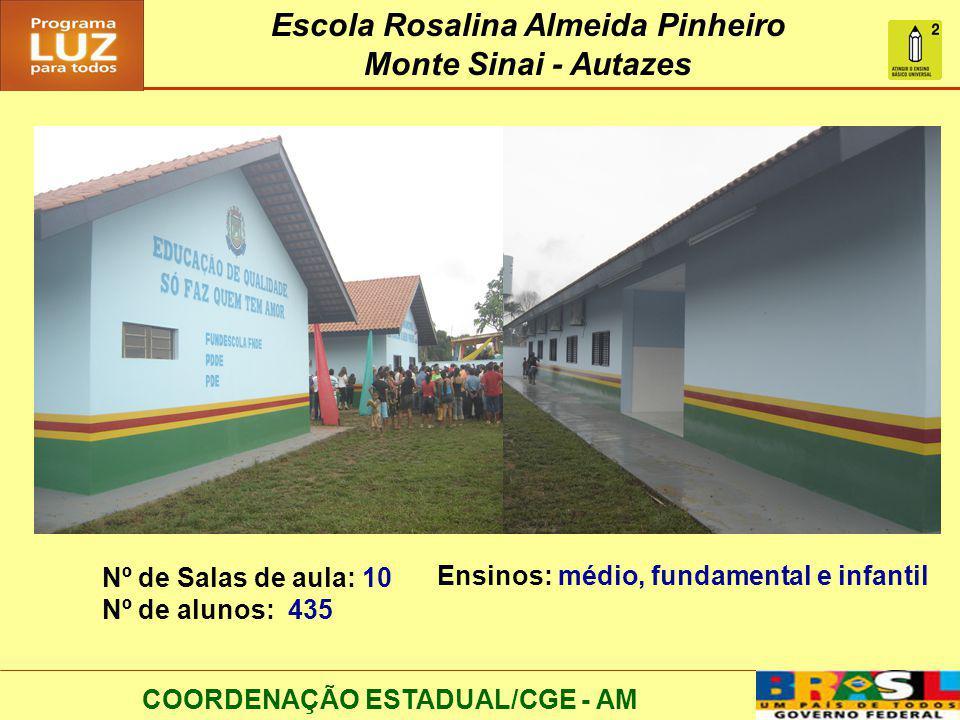 Escola Rosalina Almeida Pinheiro