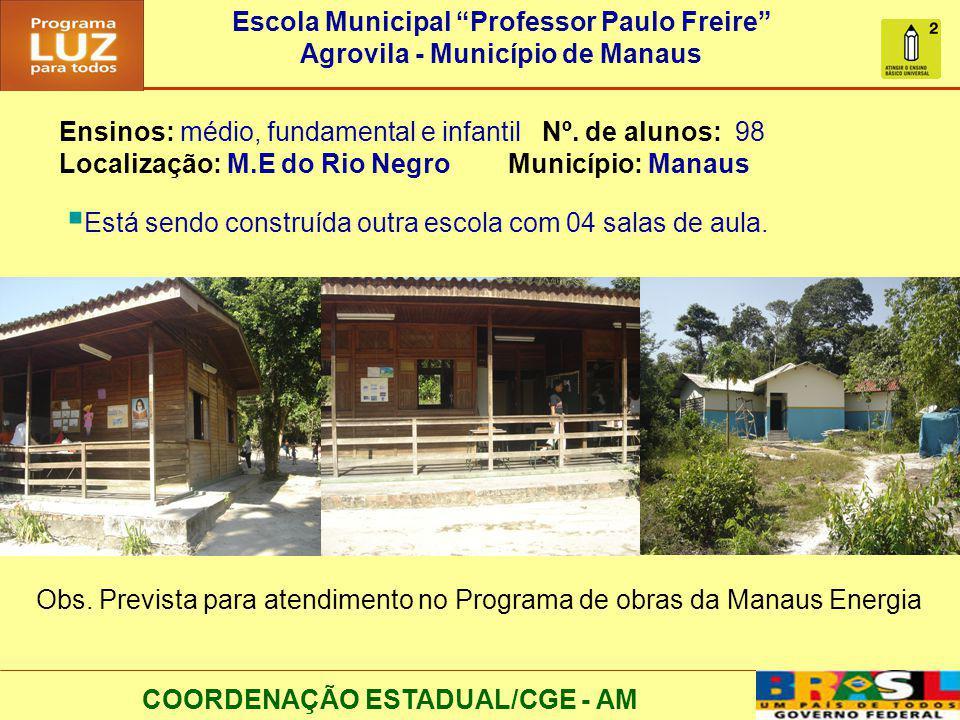 Escola Municipal Professor Paulo Freire
