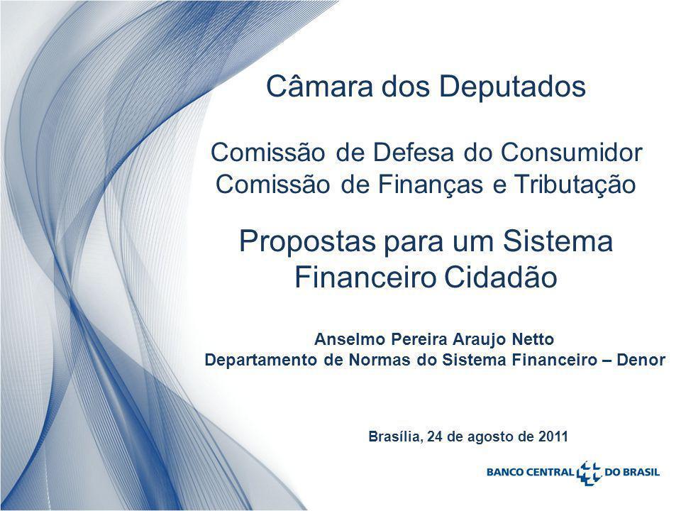 Propostas para um Sistema Financeiro Cidadão