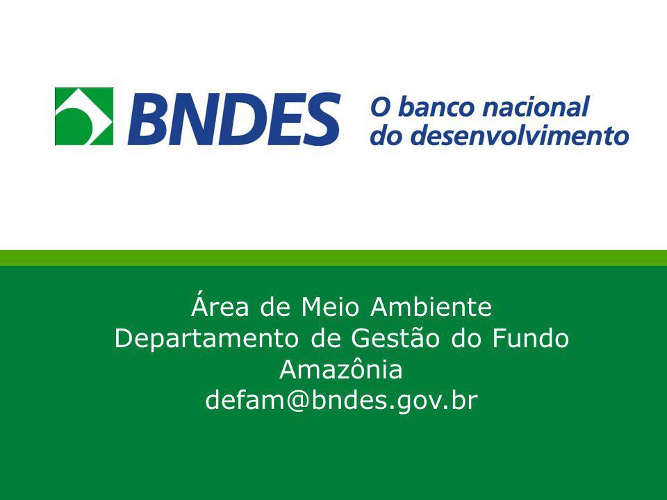 Departamento de Gestão do Fundo Amazônia