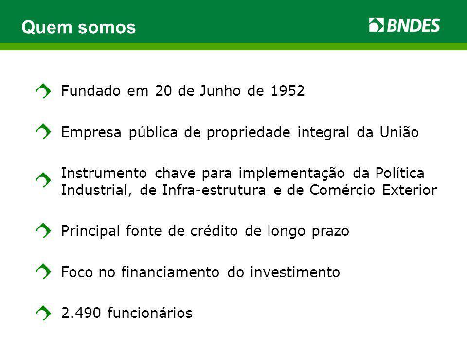Quem somos Fundado em 20 de Junho de 1952