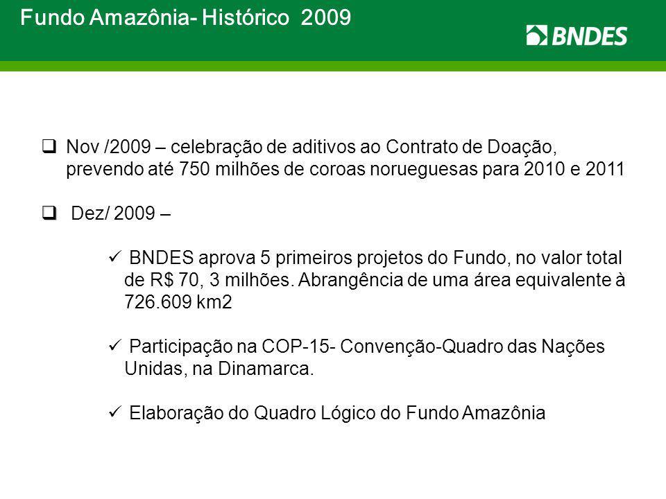 Fundo Amazônia- Histórico 2009