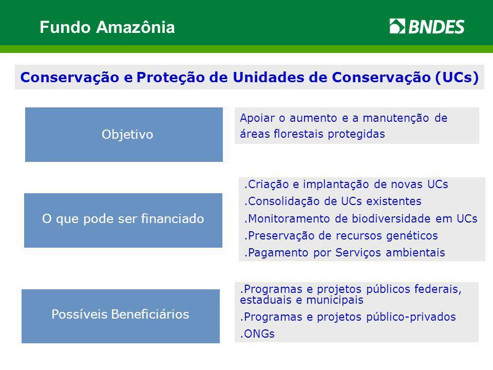 Conservação e Proteção de Unidades de Conservação (UCs)